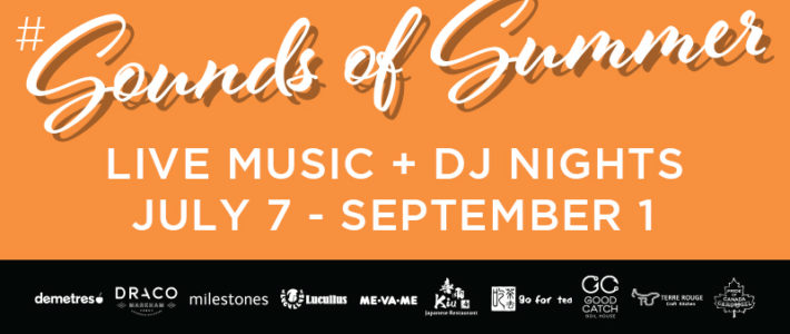 Introducing #SoundsofSummer Live Music Series