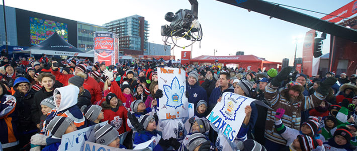 Rogers Hometown Hockey stops in Downtown Markham