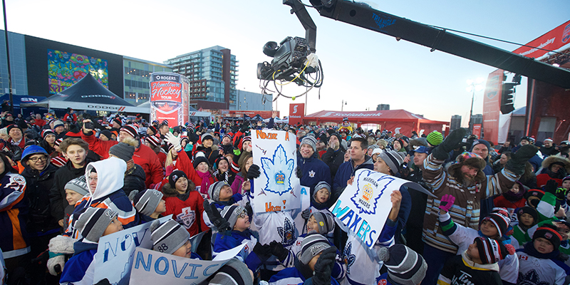 Rogers Hometown Hockey - Downtown Markham
