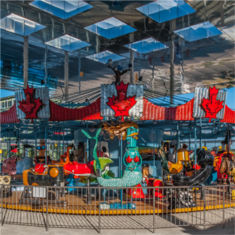 Pride of Canada Carousel - Downtown Markham