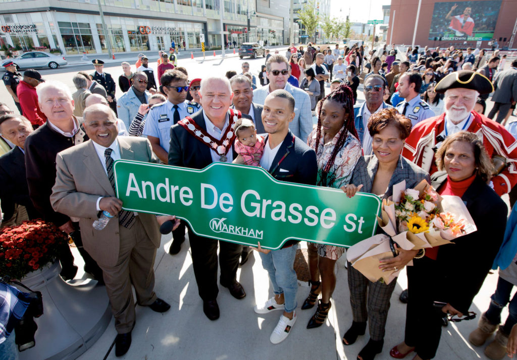 Andre De Grasse Street