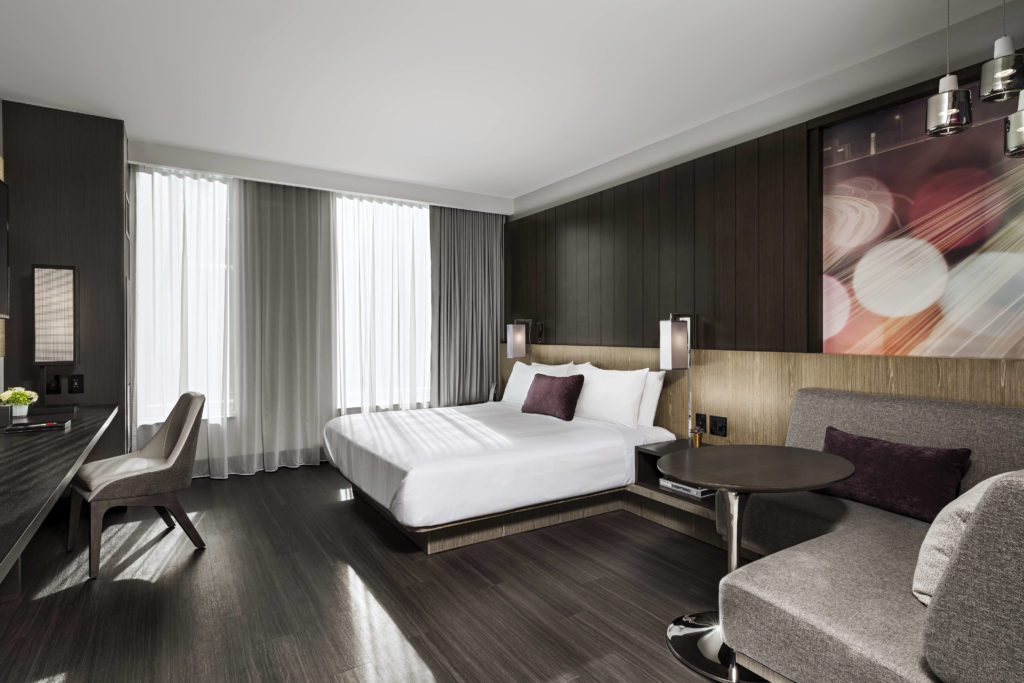 Toronto Marriott Markham suite