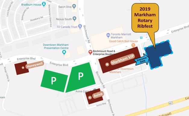 Markham Rotary Ribfest - Downtown Markham
