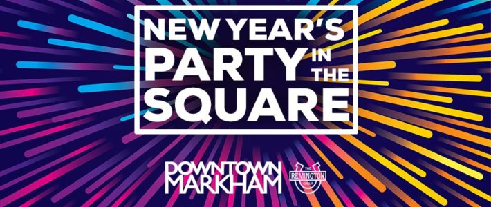 Join DTM for a New Year's Party in the Square